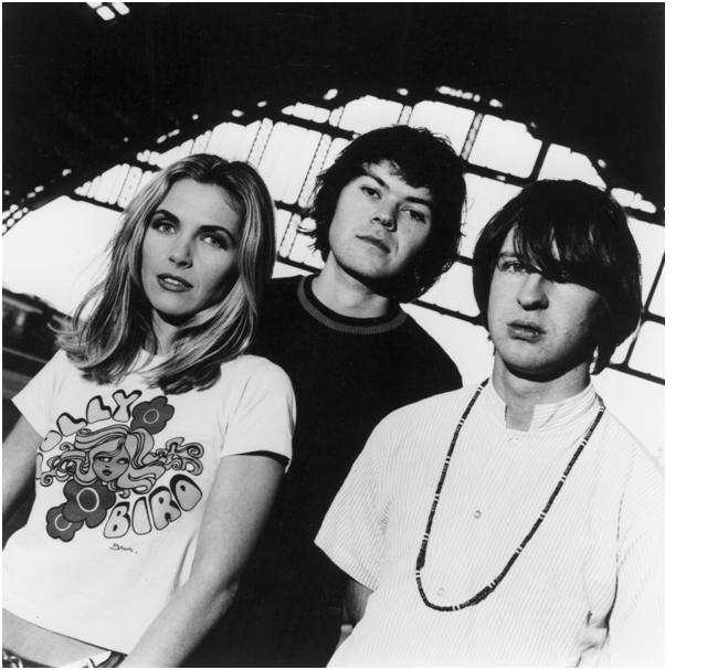 Saint Etienne in those early heady days Stanley with the big fringe