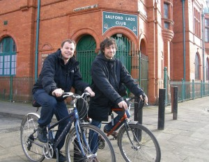 Outside Salford Lads